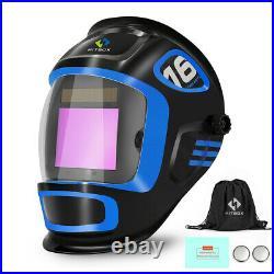 110/220V Mini TIG Welder 200A Inverter MMA ARC Stick Welding Machine with Helmet