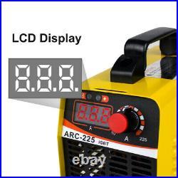 110V 10A-225A Electric Welding Machine IGBT DC Inverter Stick Welder ARC MMA US