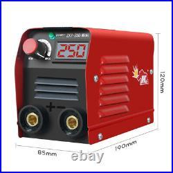 110V 20-250A Portable Welding Machine IGBT MMA ARC Electric Inverter Welder R4W0