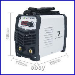110V/220V ARC Welder 165A Inverter IGBT Portable MMA Stick Welding Machine