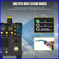 110V/220V Inverter Welder TIG MIG IGBT Welding Machine Portable MMA ARC with Gas
