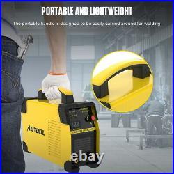 110V Digital Welding Machine DC IGBT Inverter ARC MMA Stick Welder Portable