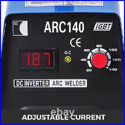 140Amp ARC MMA Stick Welder DC Inverter Welding Machine ARC140 IGBT 110V