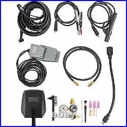 160-200 Amp TIG Stick ARC DC Welder, TIG-200 AC/DC Inverter Welder ALU 110/220V