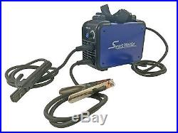 160A MMA Welder Inverter Suitcase Site Strap DC Arc Welding Machine Complete