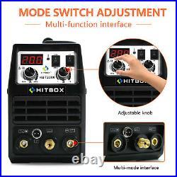 2 IN1 TIG Welder 200Amp 110V 220V HF Inverter IGBT Stick ARC TIG Welding Machine