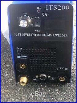 200 AMP HF Start TIG DC Inverter Welder With MMA/ARC/Stick 2 in 1 Complete Kit