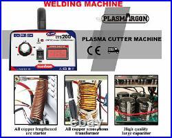 200 Amp TIG ARC Welder Inverter IGBT MMA 240V / DC Portable Machine & TIG Gun