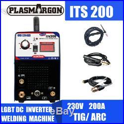 200 Amp TIG ARC Welder Inverter IGBT MMA 240V DC Portable Welding Machine