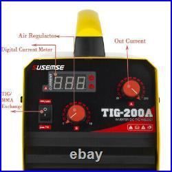 200A DC Inverter TIG Welder TIG/MMA ARC Welder 110/220V Welding Machine
