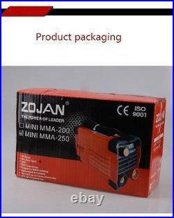 200A Digital Mini MMA Welding Machine Handheld Inverter ARC Electric Welder 220V