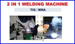 200A ITS200 TIG/STICK/ARC Welder 2in1 Stainless Welding Machine Metal Work DIY