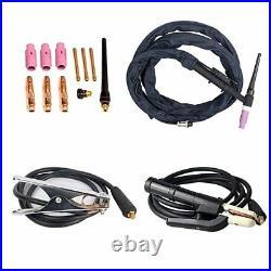 200A TIG ARC Welder Inverter IGBT MMA 110/220V DC Portable Machine Iron Copper