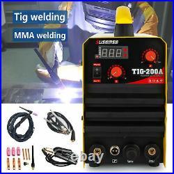 200A TIG/MMA DC Inverter TIG Arc Welder HF Start TIG Welding Machine