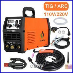 200A TIG/Stick/ARC TIG Welder 110V/220V Dual Voltage HF TIG Welding Machine IGBT