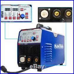 200Amp DC Inverter MIG TIG ARC Welder Gas/Gasless MIG Welding Machine 2T/4T