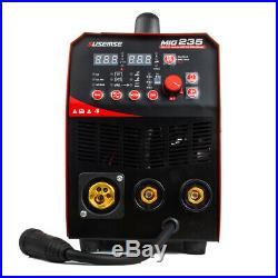200Amp Inverter MIG Welding Machine Gas/Gasless 220V MIG TIG ARC Welder 2T/4T