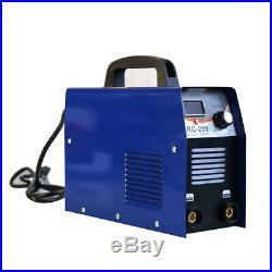 200Amp MMA/Arc Stick DC IGBT Inverter Welder Dual Voltage Welding Machine 110V