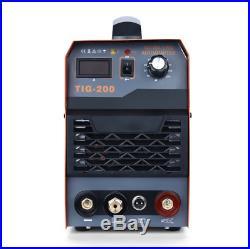 200Amp TIG ARC MMA Stick IGBT DC Inverter Welder Welding Machine 110V and 220V