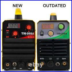 200Amp TIG Welder TIG/MMA ARC Welder 110/220V DC Inverter Welding Machine