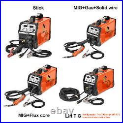 220V 200Amp MIG Welder IGBT Inverter ARC MMA Stick Lift TIG MIG Welding Machine
