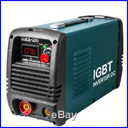 220V Inverter Welder IGBT Mini Handheld Arc Welding Machine MMA200 20-200A