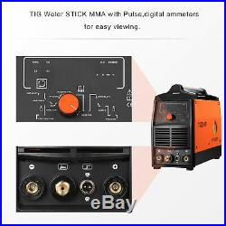 220V TIG Welder Pulse 200A Inverter Welding Machine Unit MOSFET ARC MMA Welder