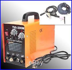 220v 200 Amp Tig & Arc Mma Tig200m DC Inverter Pulse Tig Welding Welder