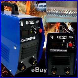250Amp Stick/Arc/MMA DC Inverter Welder IGBT Electric Welding Machine 110V