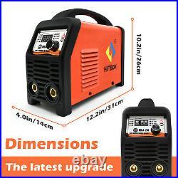 2in1 ARC Lift TIG Welder Inverter 200A 110V 220V Dual Volt Stick Welding Machine