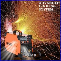 3-IN-1 MIG Welder DC 200A Inverter MMA TIG Gas Gasless Arc Spool Welding Gun