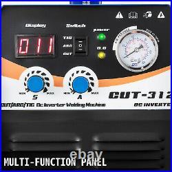 3 IN 1 Plasma cutter TIG / MMA Stick/ARC Torch Welder CT312 Blue Welding Machine