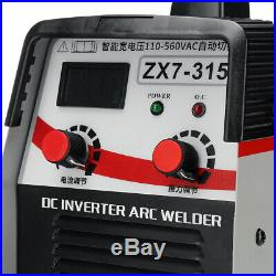 315A 8000W 110-560V MMA Welding Machine IGBT Inverter Welder ARC Force Kit US