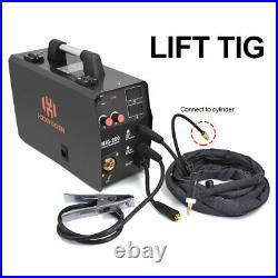 3IN1 MIG Welder 220V IGBT MIG ARC Lift TIG 3 in 1 Welding Machine Inverter Gas