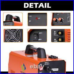 3in 1 MIG 250 MIG Welder 110V 220V 200A Inverter Gas ARC TIG MIG Welding Machine