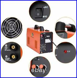 3in 1 MIG 250 MIG Welder 220V Inverter Gas Gasless ARC TIG MIG Welding Machine