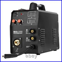 3in1 MIG Welder ARC Lift TIG Welding Machine Gas Gasless Inverter 200A 110V/220V