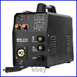 3in1 MIG Welder Machine 200A 220V ARC Lift TIG Gas Gasless Inverter DC Welding