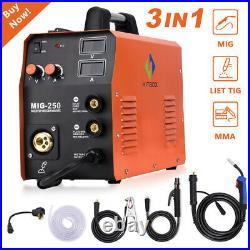 4 IN 1 MIG 250 MIG Lift TIG ARC Welder 200A 110V 220V Inverter Welding Machine