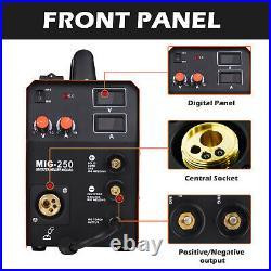4 IN 1 MIG 250 MIG Welder 200A 110V 220V Inverter Lift TIG ARC Welding Machine