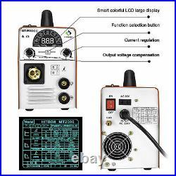 4 in 1 MIG Welder 110V 220V Dual Volt Inverter Gas ARC MIG TIG Welding Machine