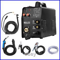 4IN1 MIG 250 MIG Lift TIG ARC Welder 220V Inverter Gas Gasless Welding Machine