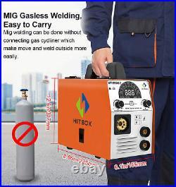 4IN1 MIG Welder Inverter 110V/220V Gas/Gasless MAG ARC MIG MMA Lift TIG Welder