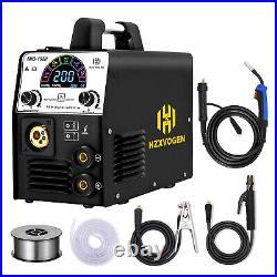 4in 1 MIG Welder Inverter DC Gas/Gasless Stick ARC MIG MMA Lift TIG Welder 180A