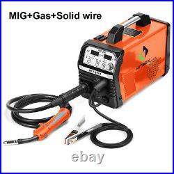 4in1 MIG ARC TIG Welder IGBT Gas Gasless Inverter MIG Welding Machine 220V 200A