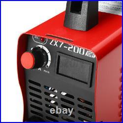 7PCS Set 220V Portable MMA ARC Welder IGBT Welding Machine Soldering Inverter