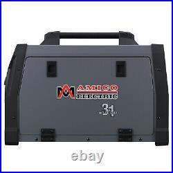 AMICO MTS-185, 185 Amp MIG Flux TIG Stick Arc 3-in-1 Welder, Spool Gun SPG15180