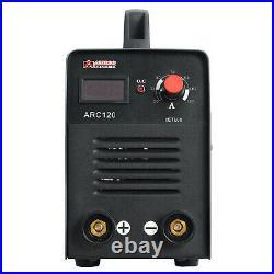 ARC-120, 120 Amp Stick ARC DC Inverter Welder, IGBT Digital Display LCD Welding