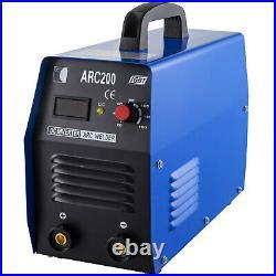 ARC-200, 200-Amp Stick/Arc/MMA DC Inverter Welder 110/230V Dual Voltage Welding
