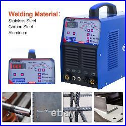ARC TIG MMA 3IN1 Digital Double Pulse Aluminum DC Welder Welding Machine